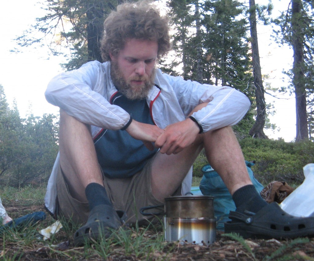 Craig Fowler - Scatman Cooking on the PCT - Hiking Cook Set Up