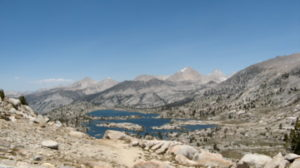 PCT - Sierra Mountains - PCT vs. CDT