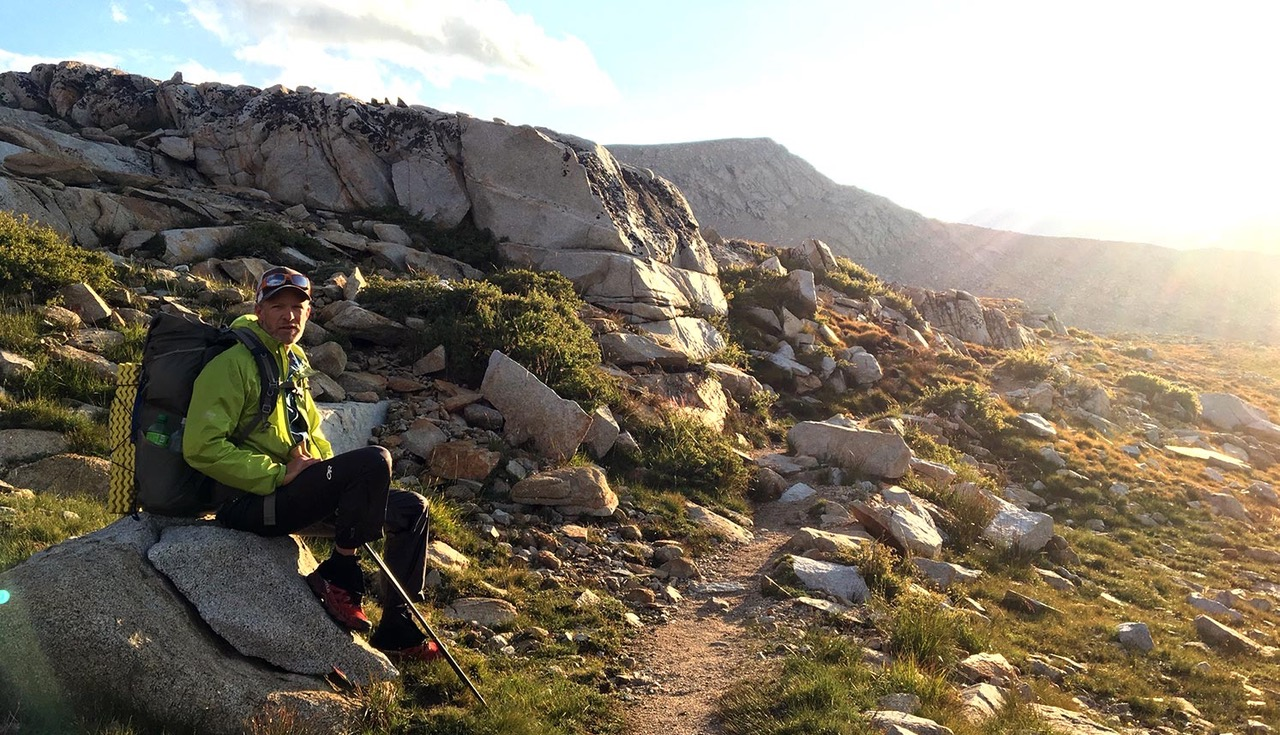 thru-hiking the John Muir Trail