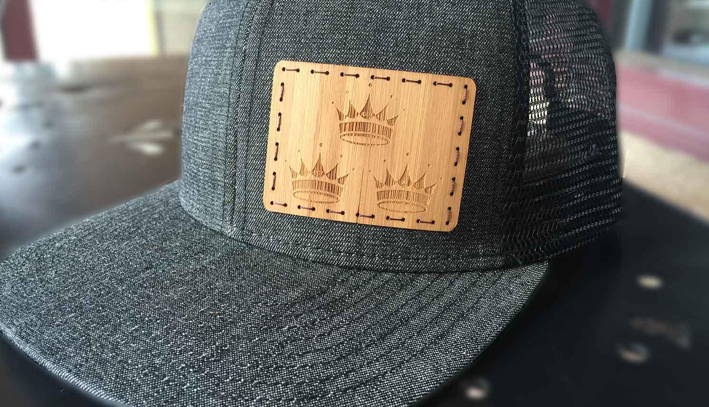 kenichi woodworking custom triple crown hat