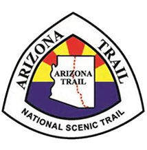 Arizona Trail Logo - pregnant triangle - One of Seven Project - Arizona Trail Guide - FINISH TIME CONTEST