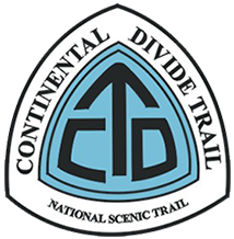 Continental Divide Trail Logo - pregnant triangle - One of Seven Project