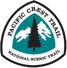 Pacific Crest Trail Logo - pregnant triangle - One of Seven Project