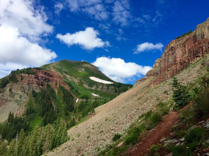Kennebec Pass - Colorado Trail - San Juan National Forest - Colorado Trail Planning Guide - Colorado Trail Dispatches - Colorado Trail Race Rider Survey