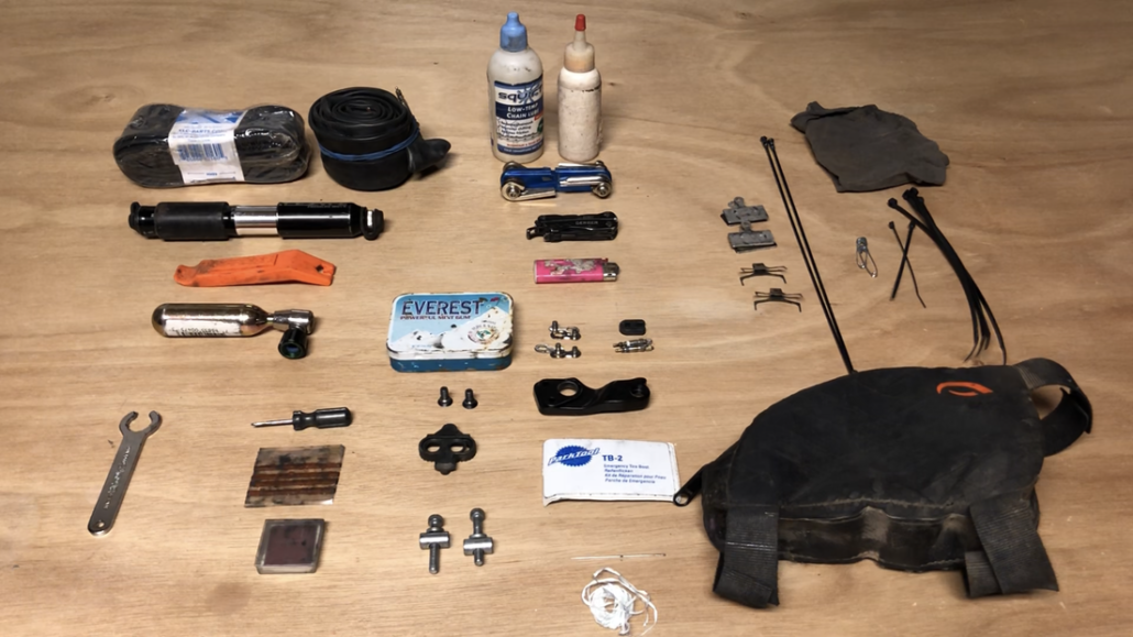 Bikepacking Tools & Repair Kit - Bikepacking gear - The Lake Trail Gear List - my proven triple crown bikepacking gear