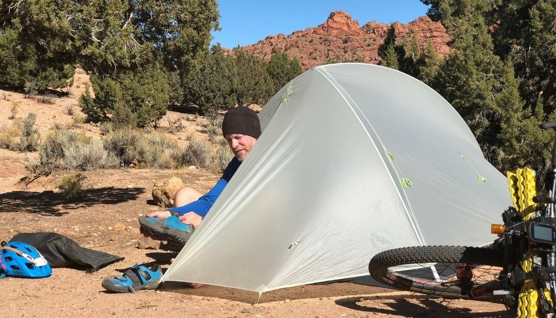 shelter gear AZT bikepacking