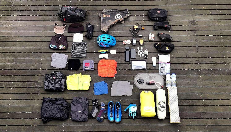 Bikepacking Gear List / Photo - Tour Divide Planning Guide - Arizona Trail Planning Guide - tour divide guide