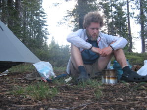 Camp Cooking on the PCT