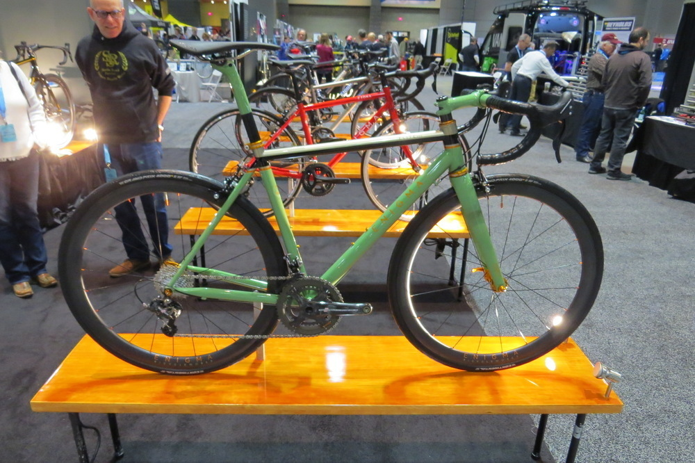 Enigma Green 2018 NAHBS Day 1