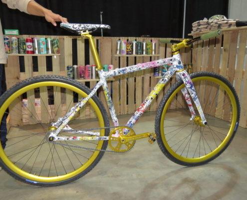 2018 NAHBS Day 1 Squid Bikes
