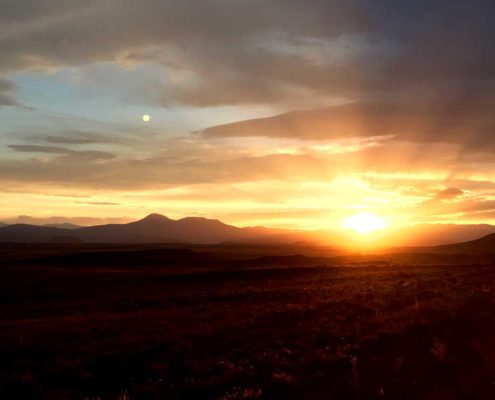 Sunset on the Tour Divide - tour divide guide