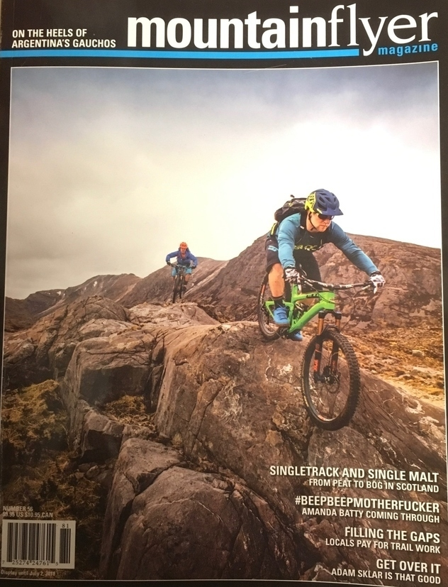 Mountain Flyer Magazine Issue 56 Craig Fowler - press