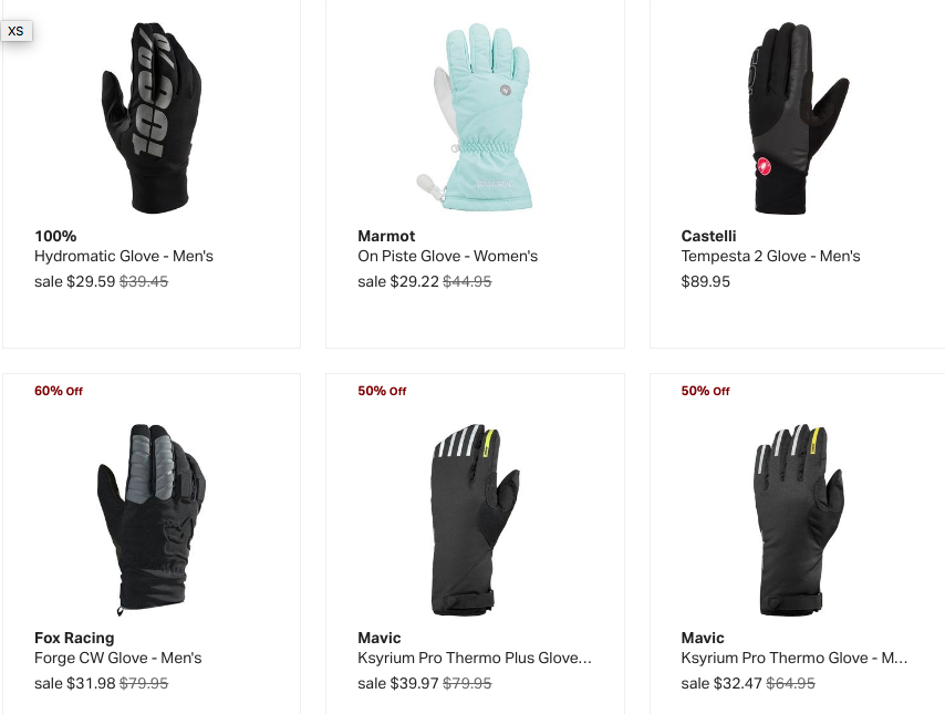 Buy Cycling Rain Gloves at Backcountry.com