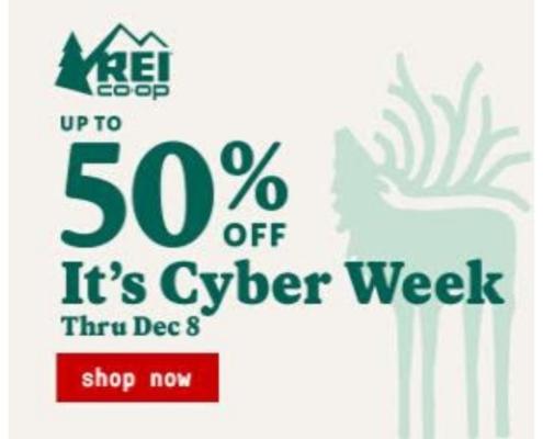 REI Cyber Week