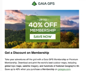 GAIA MEMBERSHIP SALE - DEALS AND SALES
