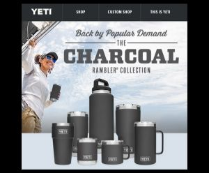 Yeti Charcoal - Deals and Sales