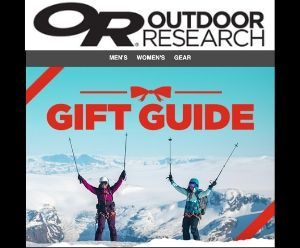 Outdoor Research Gift Guide - Deals and Sales