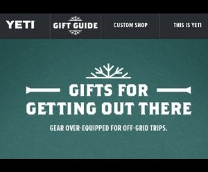 Yeti Gift Ideas - Deals and Sales