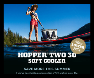 Yeti - Hopper Two 30 Soft Cooler - New lower price - Deals and sales
