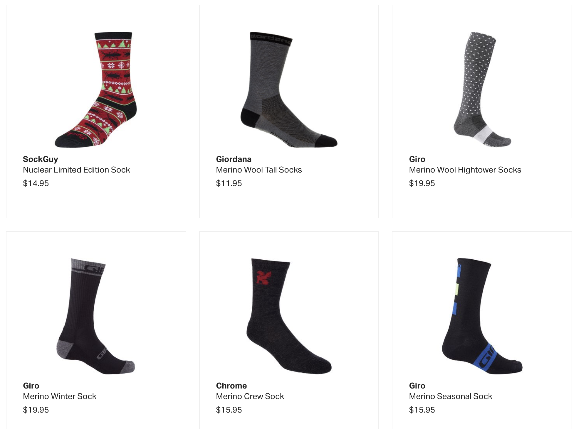 Buy Cycling Wool Socks at Backcountry.com