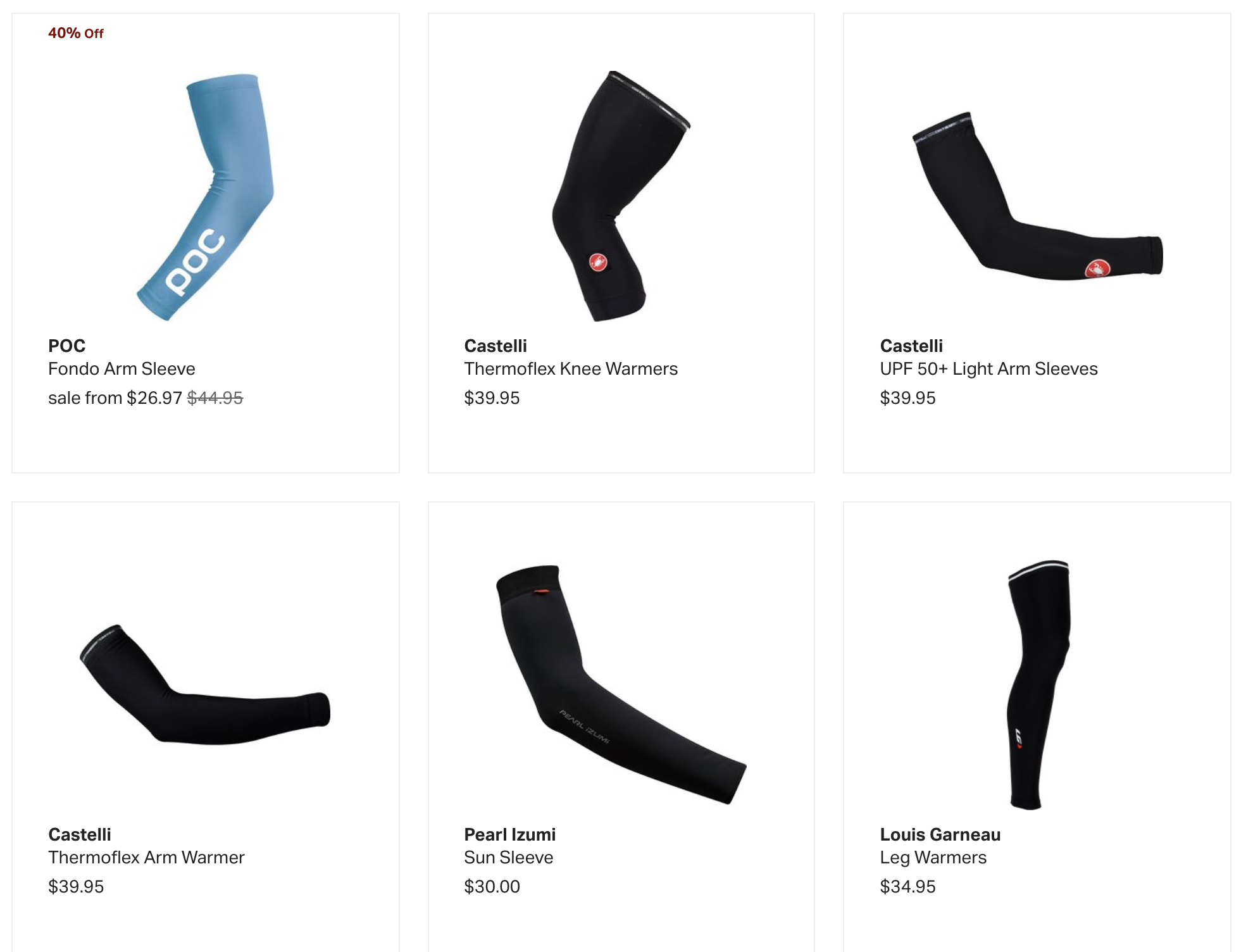 Buy Cycling Arm Warmers at Backcountry.com