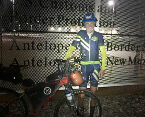 US / Mexico Border Tour Divide Finish bikepacking lessons - press release