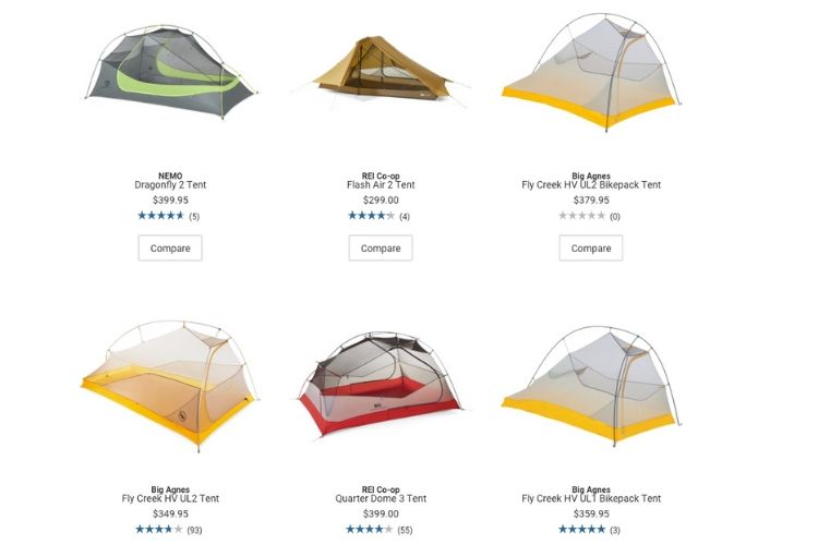 Shelter - Tents