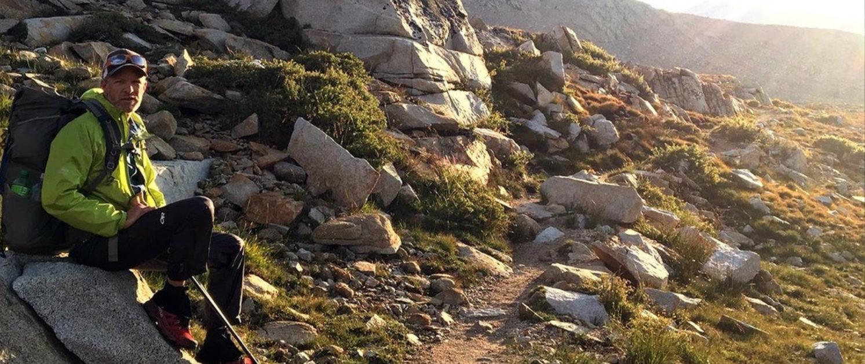 Craig Fowler JMT - Seq uoia National Park - instalink