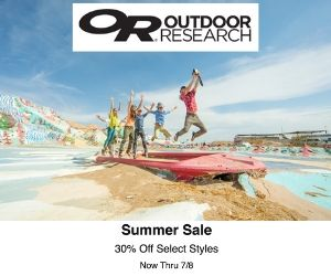 Outdoor Research Summer Sale