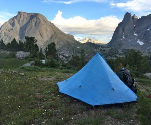 CDT - Wind River Range - Zpacks Soloplex - Cutting Pack Weight