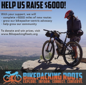 Bikepacking Roots Fund Raiser