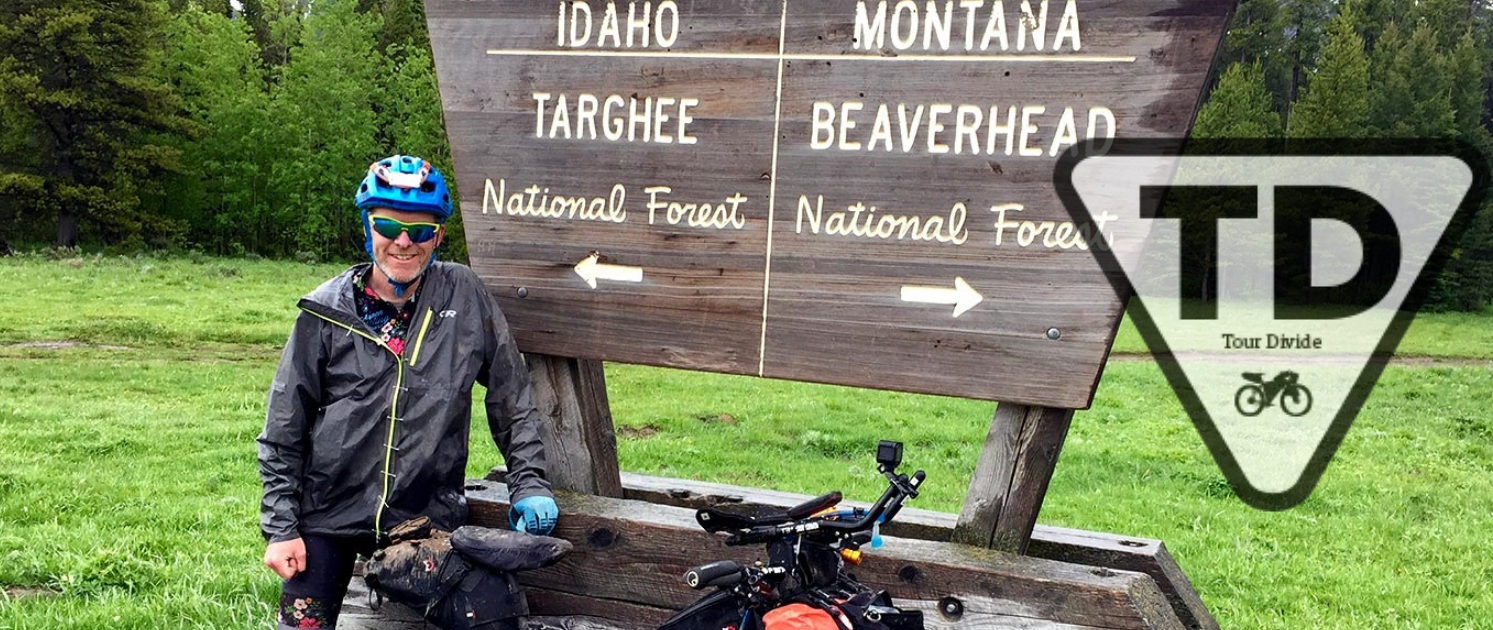 Craig Fowler - Tour Divide - Idaho Montana State Line - Tour Divide Guide - Bikepacking