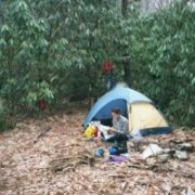 Appalachian Trail Day 37 - Watauga Lake - Unknown Campsite