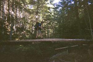 Appalachian Trail Day 144 - Pierce Pond lean-to - Bald Mtn. Lean-to