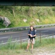 Craig Fowler - Appalachian Trail Day 110 - Dalton - Mark Noepel Lean-to
