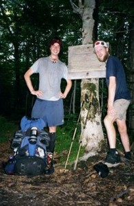 Craig Fowler - Appalachian Trail Day 111 - Mark Noepel - Seth Warner Shelter