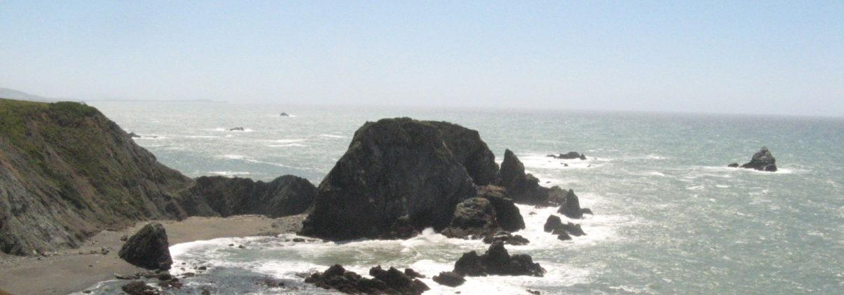 Gleason Beach - PCT 2007 Day 18 - Anchor Bay - Bodega Bay, CA