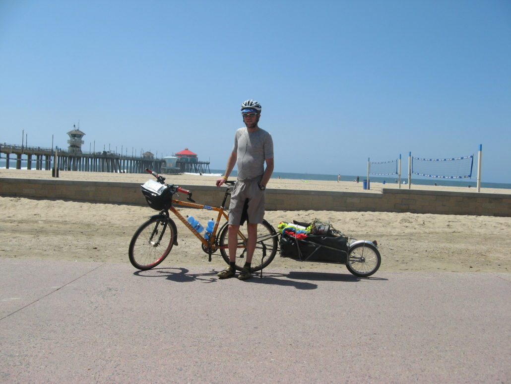 Craig Fowler - PCT 2007 Day 29 - Redondo Beach - Onofre State Beach