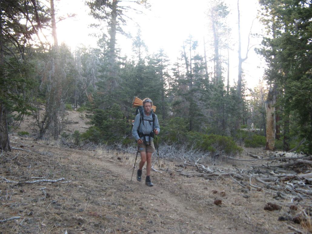 Craig Fowler - PCT 2007 Day 46 - Junction of CRHT Trail - Big Bear City8