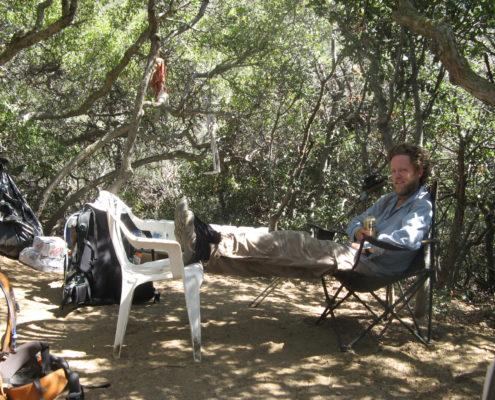 Craig Fowler - PCT 2007 Day 58 - Saufley's - Luna Da Casa