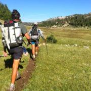 Ultralite hiking - Wind River Range - Wyoming