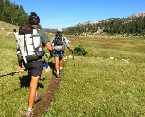 Ultralite hiking - Wind River Range - Wyoming