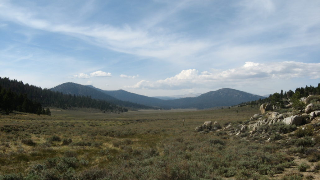 PCT 2007 Day 70 - Kennedy Meadows - Monache Meadows S. Fork of Kern River