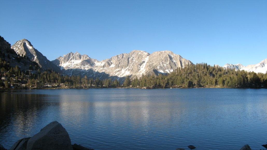 PCT 2007 Day 76 - Bullfrog Lake Junction - Independence, CA