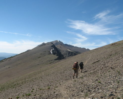 PCT 2007 Day 89 - Grace Meadow - Sonora Pass
