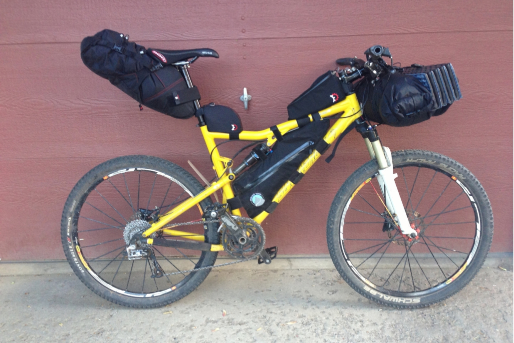 Full Suspension Bikepacking Set Up - Bikepacking 101