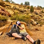 Nap Time -Craig Fowler - Hayduke Trail