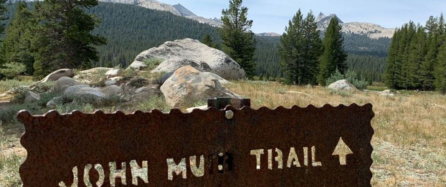 JMT sign - JMT Gear List