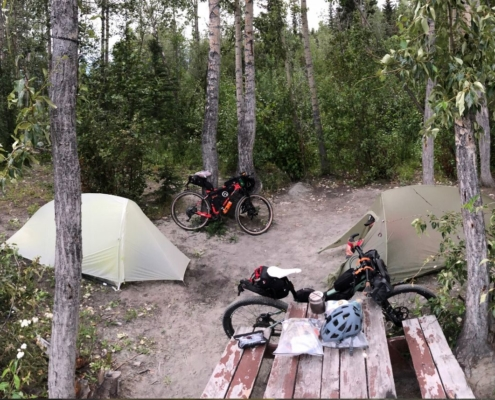 Bikepacking Alaska - Night Terrors and Mozzies