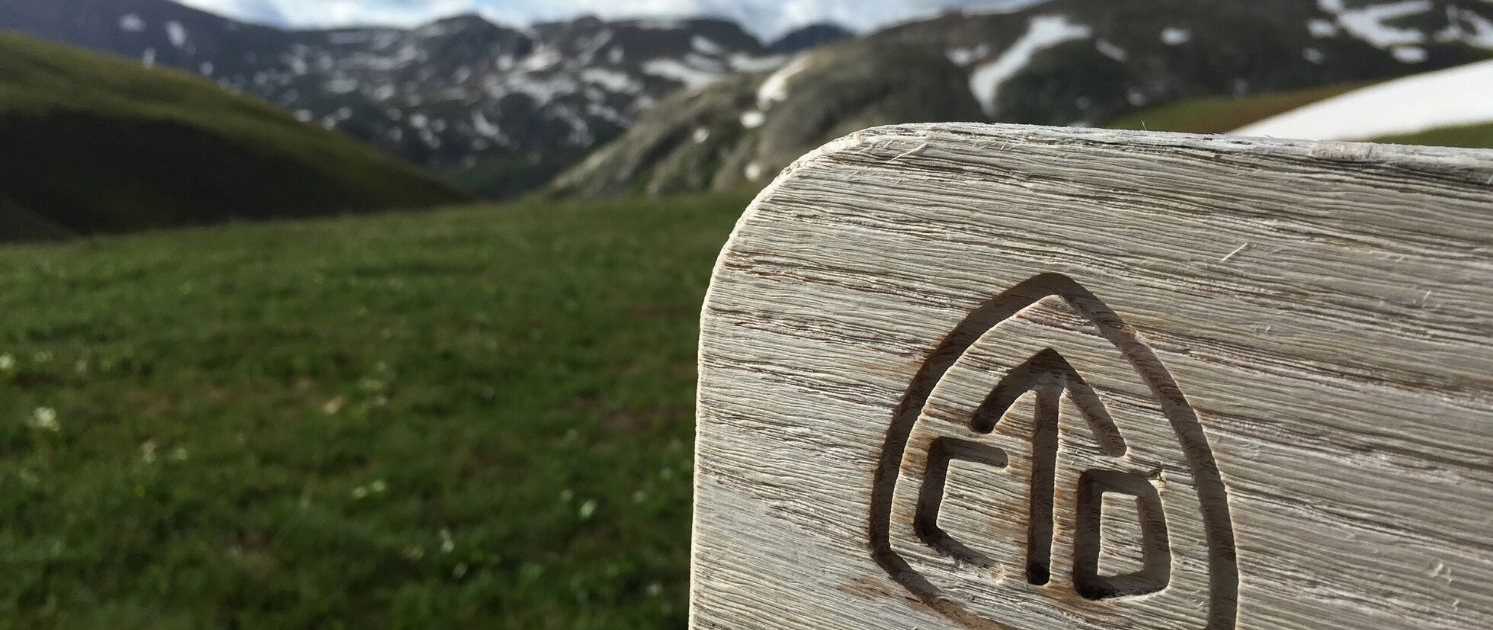 CDT Sign - hiking gear